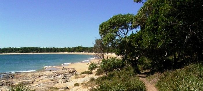 entry to Jibbon Beach from Bundeena - Sutherland Shire