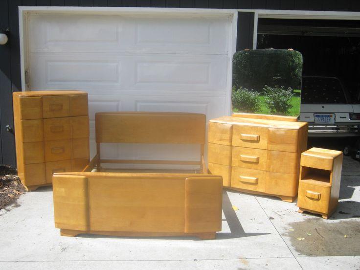 Heywood Wakefield Bedroom Set Furniture Design Wooden Heywood