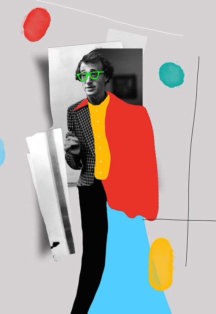 A Colorful Tribute to Woody Allen – Fubiz Media