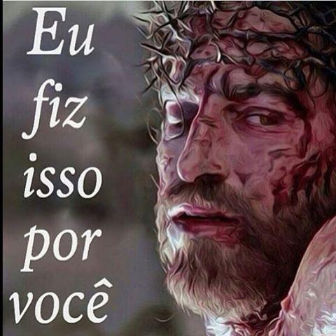 Sim... Ele deu sua vida para nos salvar. #Deus #fe #vivernafe #orar #crer #amem #amor #jesuscristo #biblia #vida #eucreio