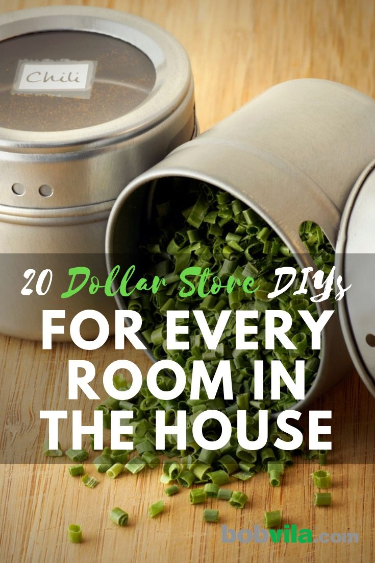 20 Dollar-Store DIYs for Every Room of the House