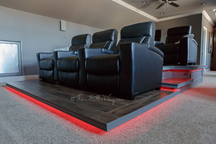 Home Theater – Final Reveal | The Hall Way