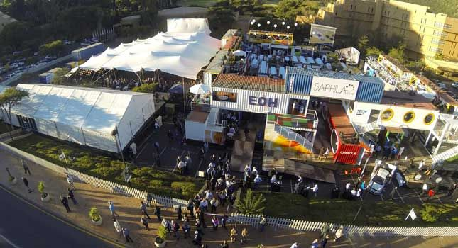 A birds-eye view of the Saphila 2014 conference in Sun City, South Africa.