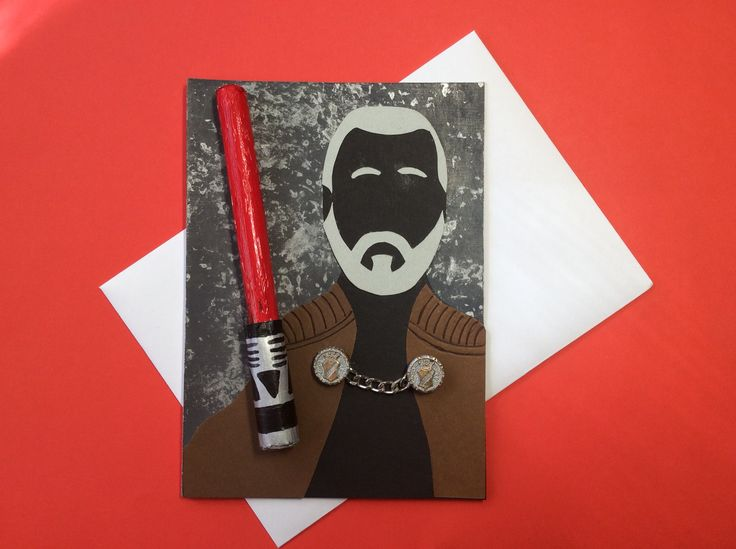 Lord dooku card for a Star Wars fan