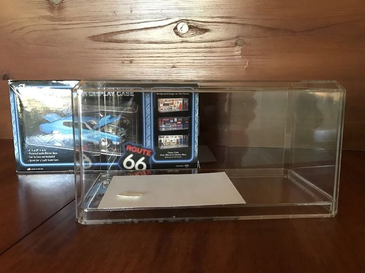 Pioneer Clear Acrylic Display Case 1:24 Scale Oversize Model Cars  | eBay