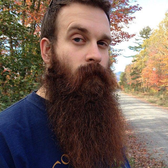 How they grow them in Maine.  Dat #beard. #maine #beards