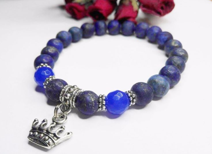 Bransoletka Lapis Lazuli  - ELMAR0 - Lapis lazuli