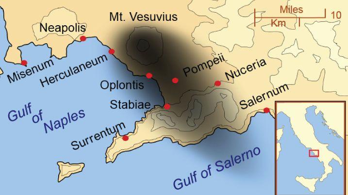 30 Interesting facts about Pompeii and Mount Vesuvius | Around Rome Tours