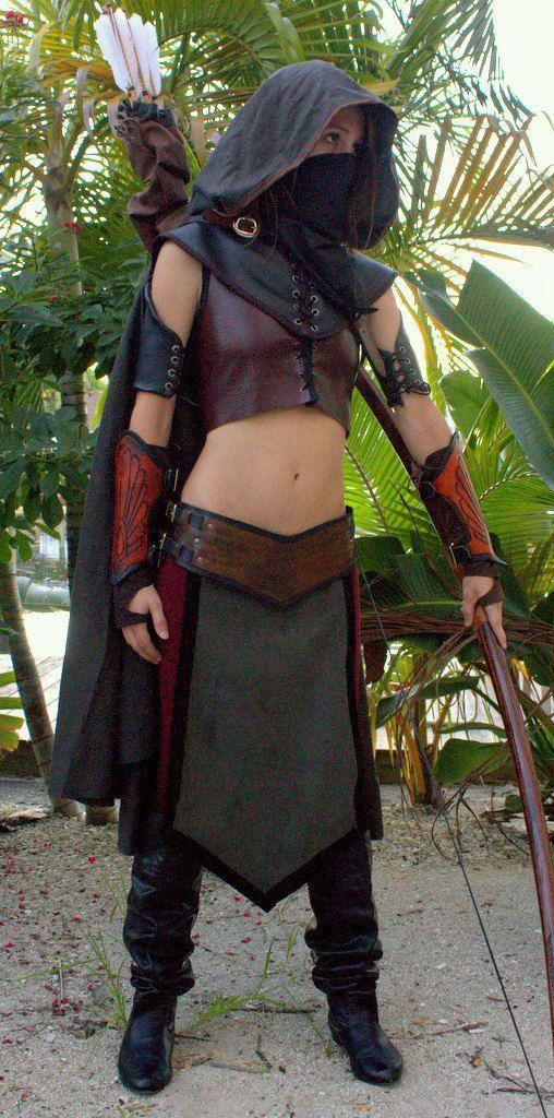 Female Ranger of Gondor, Lord of the Rings inspired Dunedine Costume