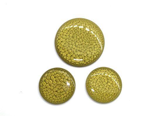 Красивые круглые кабошоны окрашенные вручную покрытые от Vladbeads