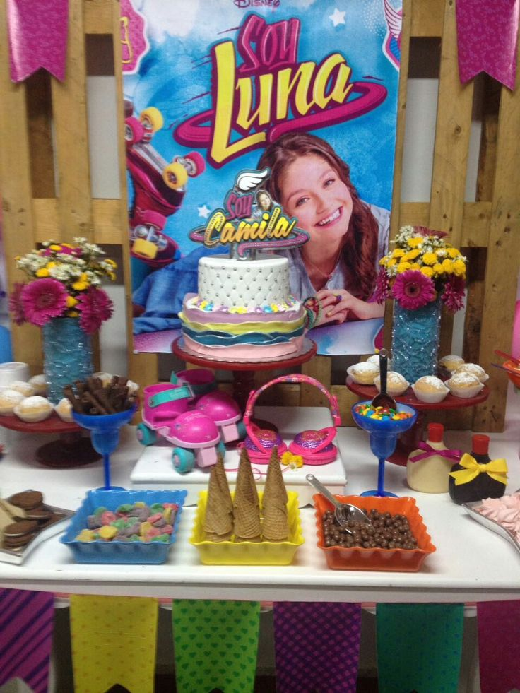 Soy luna decoraci n de fiestas para ni as pinterest - Sol y luna decoracion ...