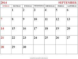 September 2014 Calendar Printable & Template http://www.calendarvip.com/september-calendar.html
