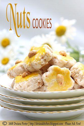 nuts cookies / kue kacang