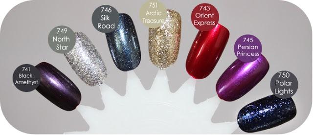 Minimuffs Beautyblog ♥: IsaDora   Northern Lights Limited Edition   WonderNail Nagellacke