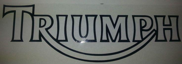 Triumph Rocker Sticker Bike Motor Tuning Sport Decal Adhesive Graphic Label