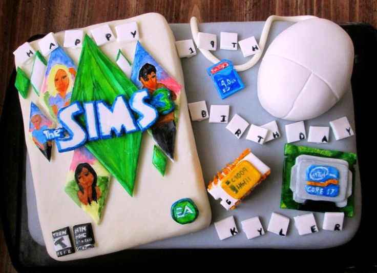 Sims  Where Is The Birthday Cake