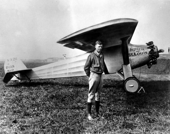 Charles Lindbergh, Spirit of St. Louis