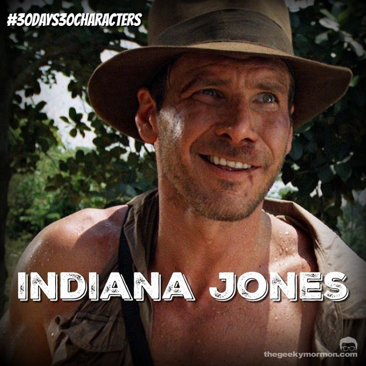 Day 18- Indiana Jones #30Days30Characters #IndianaJones