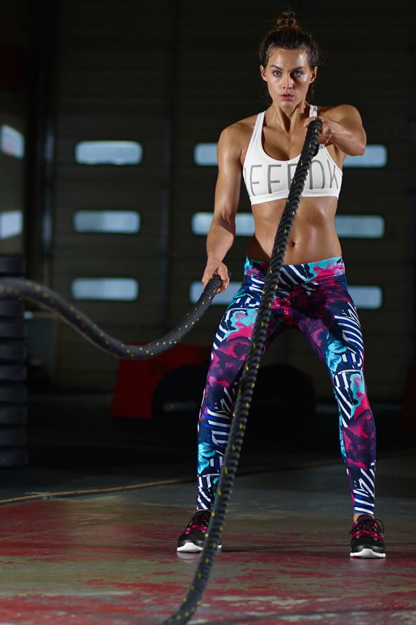 Our fitness gear is designed for the girl who wants to give each workout her all. Whether it's on the ropes, box, or track, bring on the WOD.