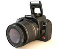 Canon Digital XTI Rebel model.