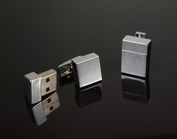 4GB USB Cufflinks with free shipping Australia wide www.cufflinked.com.au