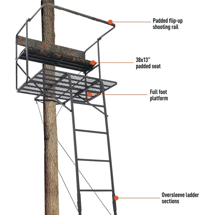 17 best ideas about ladder tree stands on pinterest tree for One person tree stand