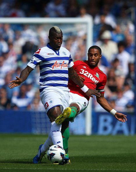 Djibril Cisse - Queens Park Rangers v Swansea City - Premier League