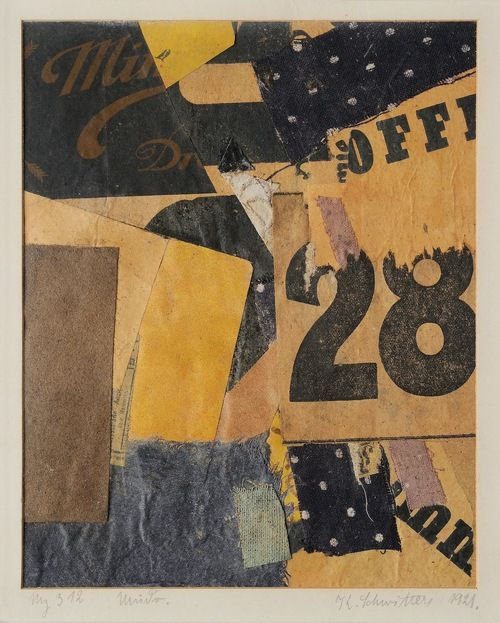 Kurt Schwitters (Dada collage or Mertz as he termed it)