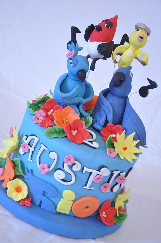 Southern Blue Celebrations More Rio Rio2 Cake Ideas