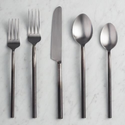 One of my favorite discoveries at WorldMarket.com: Ombre Flatware Collection