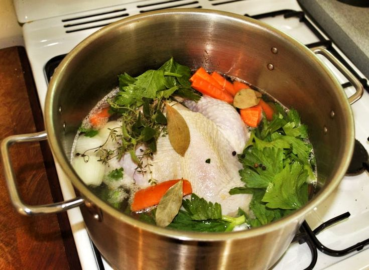 -to for chicken stock (Sarah Wilson's chicken stock). Delicious stock ...