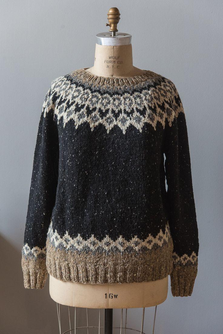 St. Brendan Sweater, knit in Arranmore Malin Head / St. Claire / Glenveagh Castle / Cronan
