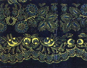 Complicated Slovak embroidery, cannot find source or date