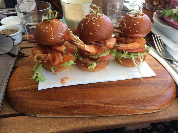 Prawn and Bacon Sliders from a cute little cafe called Lolo and Wren! One of my favourites