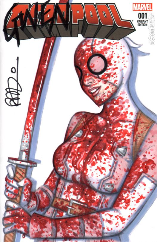 Bloody GwenPool - Scott Blair