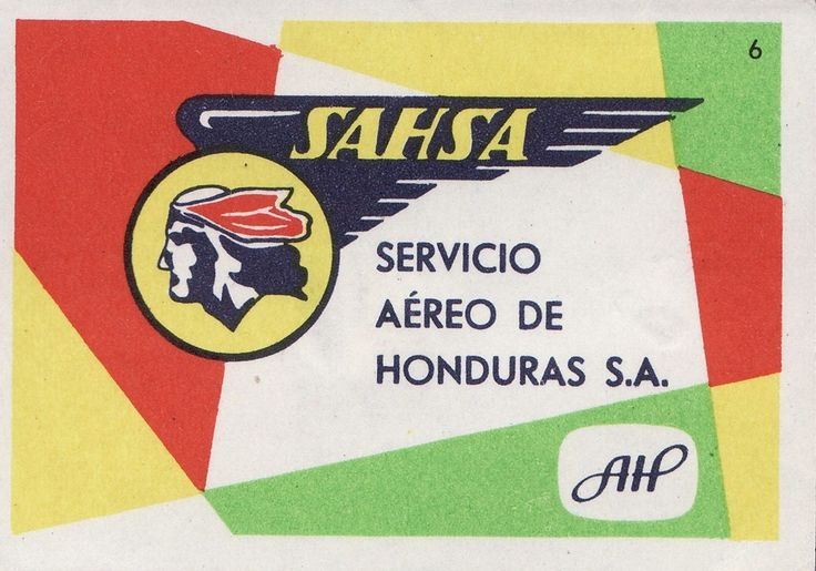 MATCHBOXES AND LABELS COLLECTION: AIRLINES LOGO ON MATCHBOX LABEL