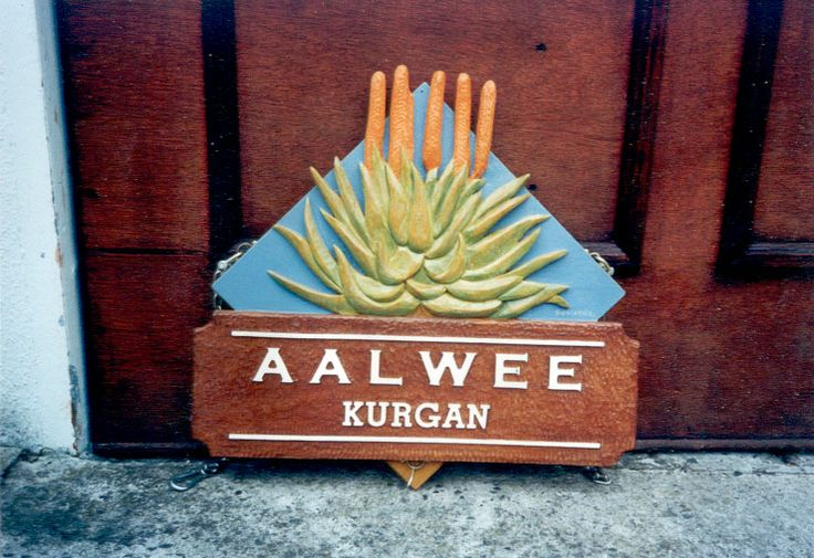The Sign Carver offers beautiful, eye-catching and refreshingly different signage  http://www.signcarver.co.za/