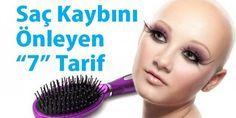 Saç Dökülmesini Önleyen 7 Tarif