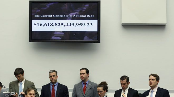 The federal debt exceeding the $18 trillion mark sparked strong reaction Tuesday from Republicans and other fiscal conservative critical of government spending under President Obama.