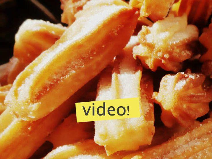 Cómo hacer churros caseros: NO te imaginás lo fácil que es. Solo lleva ¡harina y agua! Todo el paso a paso explicado en VIDEO. ¡Salen perfectos!