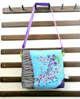 Beaufitul Cameo Shoulder Bag, Handmade