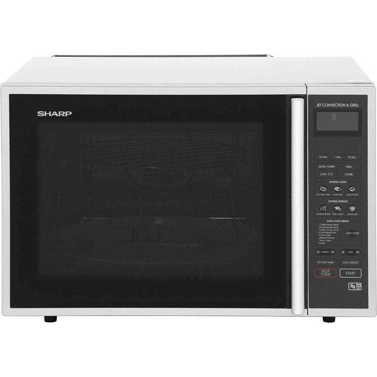 Sharp R959SLMAA 40 Litre Combination Microwave Oven   Silver / Black