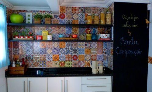 Adesivos De Retalhos Para Festa Junina ~ adesivo para azuleijo cozinha Pesquisa Google Decoraç u00e3o de casa Pinterest Portugu u00eas e