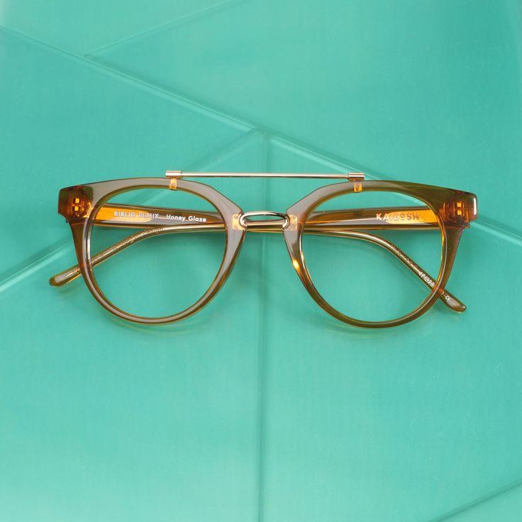 KAIBOSH | BIBLIO REMIX glasses in HONEY GLAZE