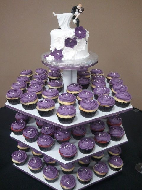 25 Best Ideas About Purple Wedding Cupcakes On Pinterest