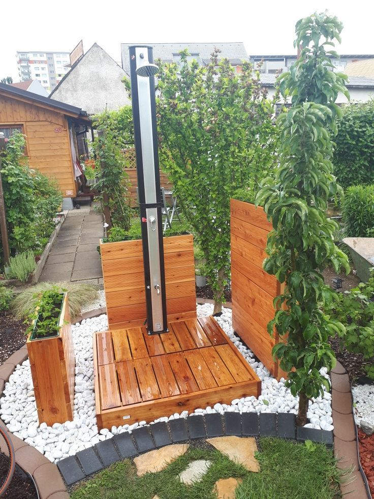 Diy Wood Garden Garden Shower Solar Shower Garden A Mini Pool