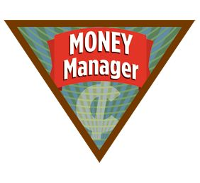 Girl Scout Brownie Money Manager Badge. Money helps us buy things we need, like food and clothes. And money helps us buy things we want, like video games and movie tickets! Learn the difference between wants and needs in this badge.Brownies Money Manager Badge, Games, Brownie Money Manager Badge, Scouts Brownies, Brownies Scouts, Badges Exploration, Management Badges, Girls Scouts, Brownies Girls