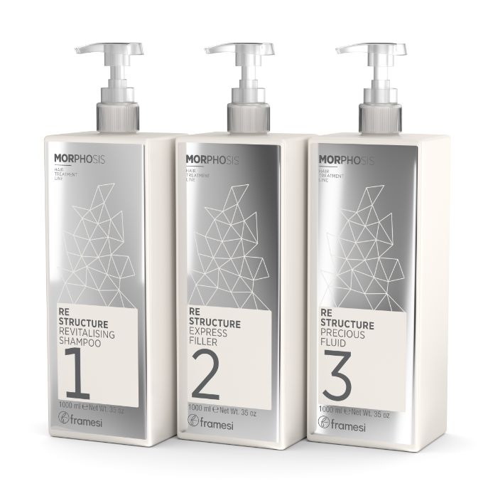 MORPHOSIS RE-STRUCTURE hair treatment line