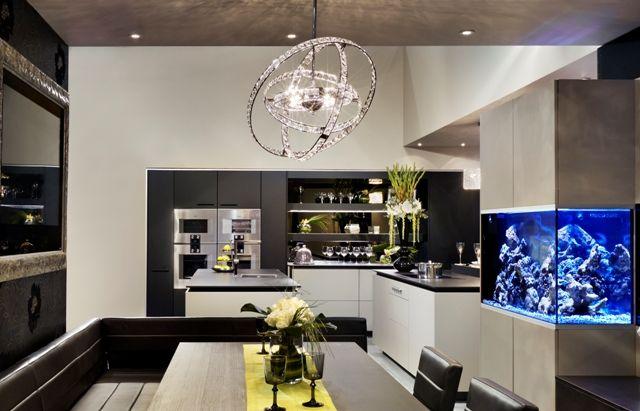 modern kitchen lightingjpg 640411 lighting pinterest curtain poles roman blinds and ranges - Trendy Kitchen Lights