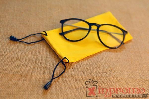 Microfasertuch Brillen Säckchen bedrucken - Werbeartikel Grosshandel | Werbeartikel bedrucken | Grünstige Werbemittel